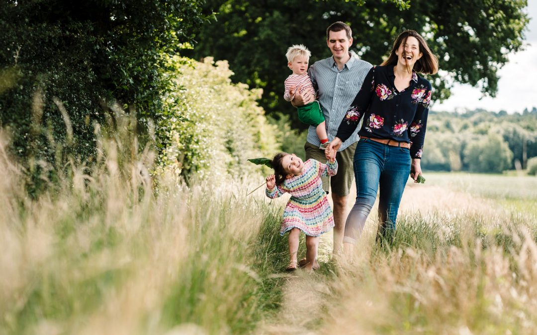 Family Photoshoot Ideas in Warwickshire